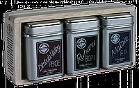 Три вида цейлонского плантационного черного чая, 3 ASSORTED TEAS COLLECTION, Млесна (Mlesna) 75г.