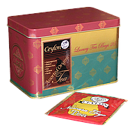 Ассорти черного чая в разовых пакетах, ASSORTED FOIL ENVELOPE TEA BAG CADDY, Млесна (Mlesna) 50г.