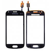 Тачскрин для Samsung S7582 Galaxy Trend Plus Duos, черный Оригинал (тестирован)