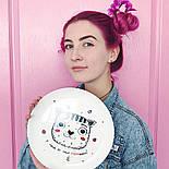 "Дизайнерская тарелка ""Котик У меня от тебя мурашки"", фото 6"
