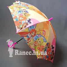 Зонт детский Винкс полуавтомат