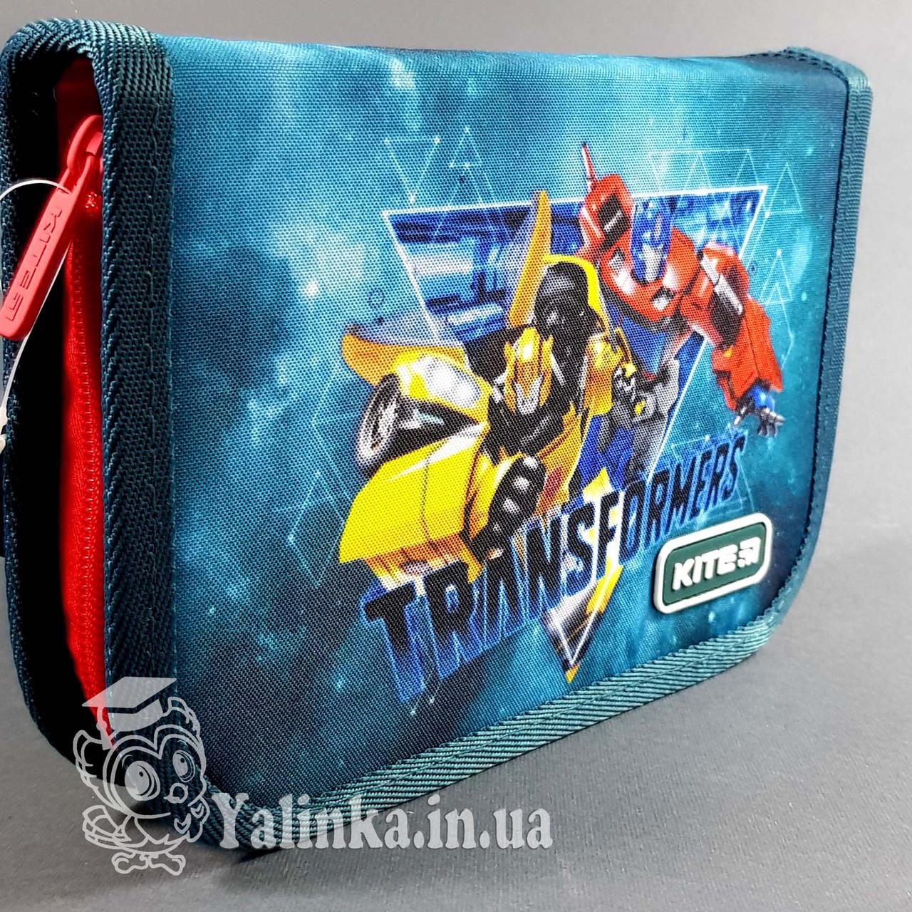 Пенал 1 отд., 2 отв., без наполн. Kite Education 622 TF-1 TF19-622-1 ранец  рюкзак школьный hfytw ranec