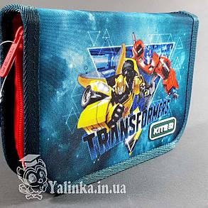 Пенал 1 отд., 2 отв., без наполн. Kite Education 622 TF-1 TF19-622-1 ранец  рюкзак школьный hfytw ranec, фото 2