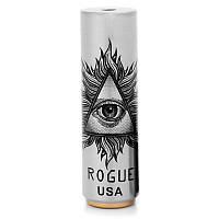 ✅ Электронная сигарета, мехмод Rogue USA, мод вейп, с дрипкой, цвет - сталь