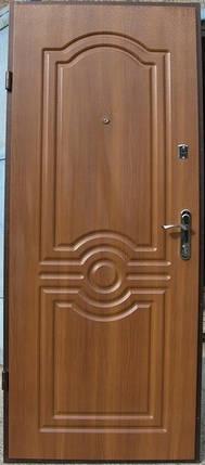 Входная дверь  Эконом Лондон дуб золотой 960х2050, фото 2