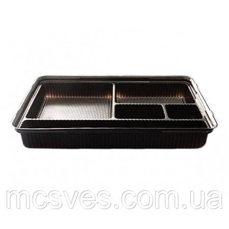 Упаковка для суши ПС-610 (с крышкой) 180 шт