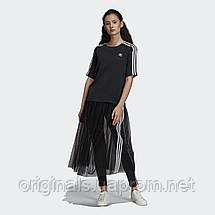 Женская футболка Adidas 3-Stripes DX3695  , фото 2