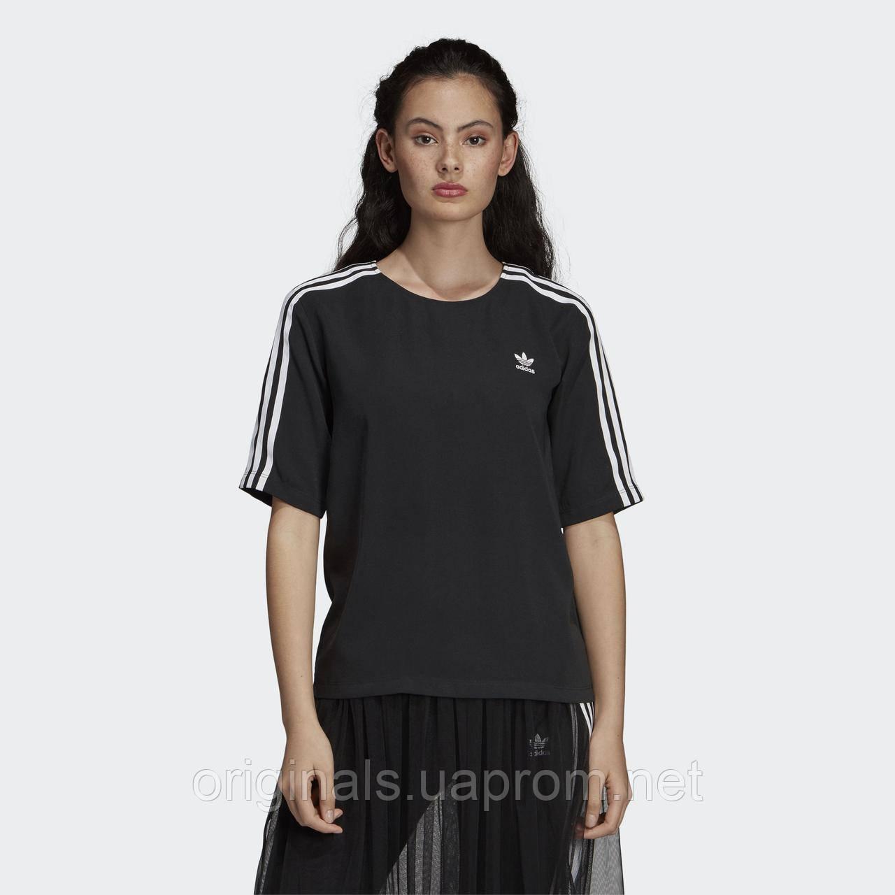 Женская футболка Adidas 3-Stripes DX3695