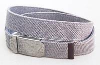 Тканевый ремень светло-серый, фото 1