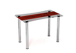 Обеденный стол стеклянный Самурай, фото 2