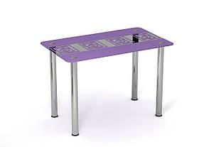 Стол стеклянный Виолетта, фото 2