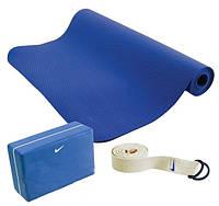 Набор для йоги Nike Essential Yoga Kit Shaded Bluemedium Grey