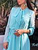 Шифоновое платье в горошек с бантом 36ty2505, фото 7