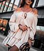 Летнее платье с открытыми плечами 71ty2513, фото 4