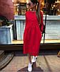 Коттоновое платье с пышной юбкой миди 71ty2515, фото 2