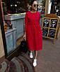 Коттоновое платье с пышной юбкой миди 71ty2515, фото 4