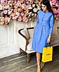 Коттоновое платье с пышной юбкой миди 71ty2515, фото 5