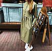 Коттоновое платье с пышной юбкой миди 71ty2515, фото 6