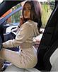 Женский спорт костюм из люрекса с укороченной кофтой 71rt595, фото 4