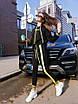 Трикотажный женский спортивный костюм с яркими лампасами 71rt598, фото 4