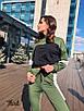 Женский спортивный костюм с лампасами 36rt605, фото 2