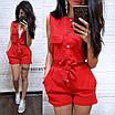 Женский джинсовый летний комбинезон без рукава 9st1028, фото 5