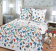 Ткань для постельного белья, бязь хлопок Бабочки