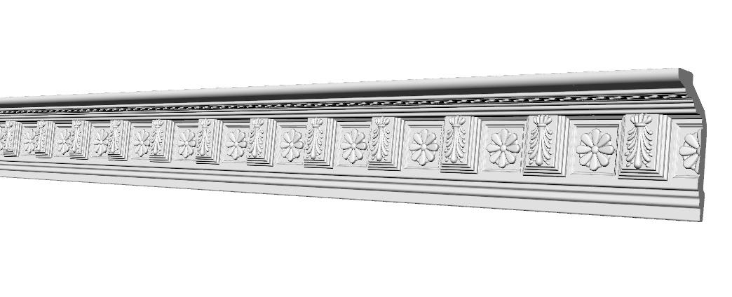 Карниз Glanzepol GP-7 (116x57)мм
