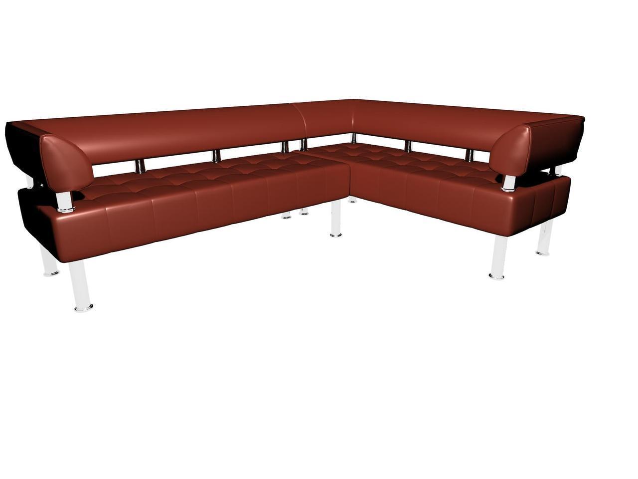 Офисный угловой диван Тонус