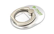Кільце тримач для смартфонів PowerPlant, сріблястий