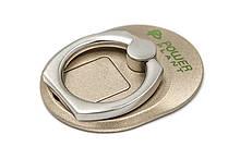 Кільце тримач для смартфонів PowerPlant, золотий