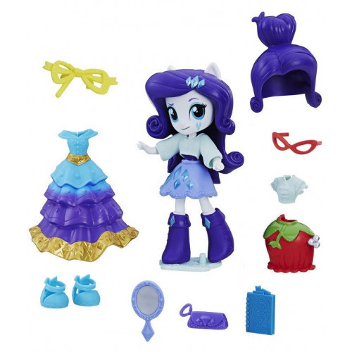Hasbro My Little Pony Equestria Girls Minis Сенные наряды Switch 'n Mix Rarity (C1841/C1721)