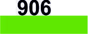 Мулине DMC (Франция) 906 Зеленый попугаевый, ср.