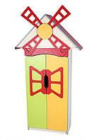 """Стенка детская """"Цветочная поляна"""" №9 """"Мельница"""" с дверью для НУШ, школы, сада, фото 1"""