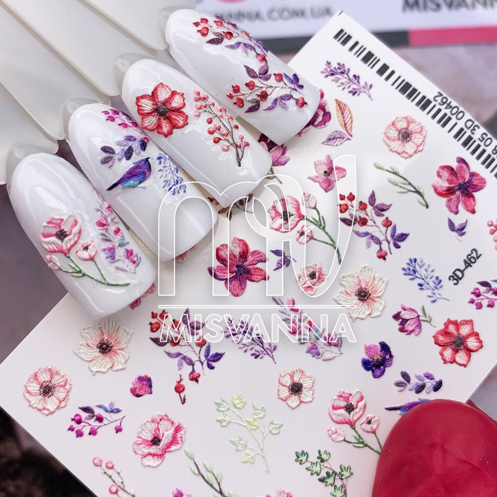 Слайдер дизайн 3D-462 квіти