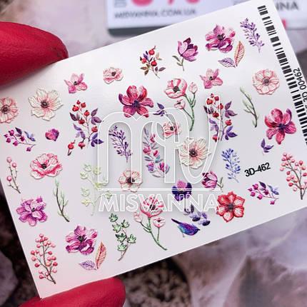 Слайдер дизайн 3D-462 квіти, фото 2