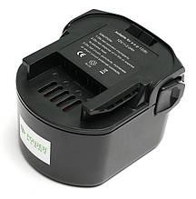 Акумулятор PowerPlant для дамських сумочок та електроінструментів AEG GD-AEG-12(B) 12V 2Ah NICD (B1214G)