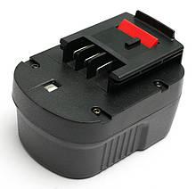 Акумулятор PowerPlant для дамських сумочок та електроінструментів BLACK&DECKER GD-BD-12(B) 12V 2Ah NICD