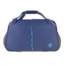 Дорожная сумка  Tong Scheng нейлон 52х33х26   кс99210син, фото 2