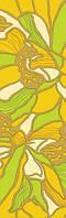 Плитка бордюр Golden Title Апрель зелен 40*11,5