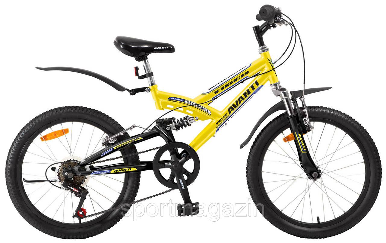 Велосипед Avanti Tiger 2015 желтый   - sportmagazin в Киеве