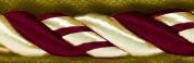 Кант вшивной (золото-бордовый)