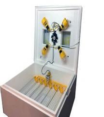 ИнкубатрорТеплуша автоматический 63/30/200, цифровой терморегулятор, литой пенопластовый корпус