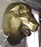 """3D фігура з паперу """"Лев"""""""