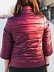 Элегантная куртка с брошью и рукавом 3/4 рр 54-66, фото 2