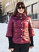 Элегантная куртка с брошью и рукавом 3/4 рр 54-66, фото 4