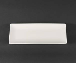 Блюдо прямоугольное фарфоровое 305 мм Helios Extra white (A7046), фото 2
