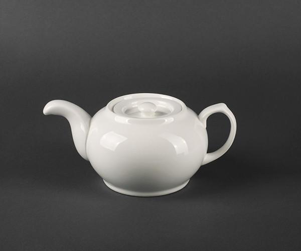 Фарфоровый чайник заварочный HLS Extra white 700 мл (A7064)