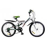 """Велосипед Formula Kolt 20"""" (2015) AM2 14G St бело-зеленый"""