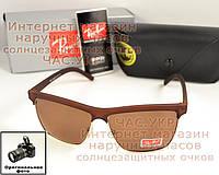 Солнцезащитные очки Ray Ban Dylan RB 4186 Polarized коричневые поляризация мужские женские